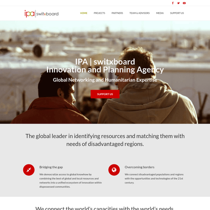 IPA | Innovation and Planning Agency