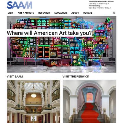 Homepage | Smithsonian American Art Museum and Renwick Gallery