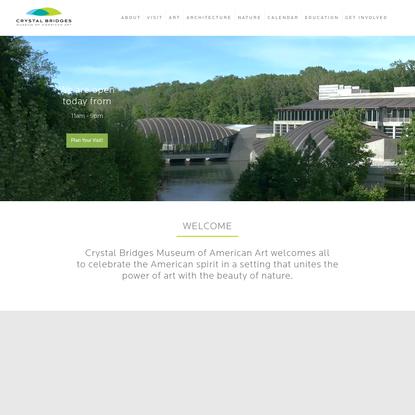 Home - Crystal Bridges Museum of American Art