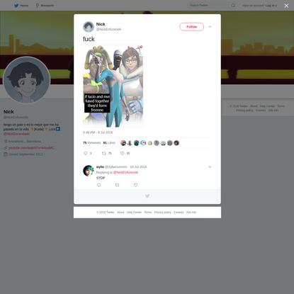 Nick on Twitter