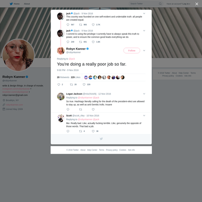 Robyn Kanner on Twitter