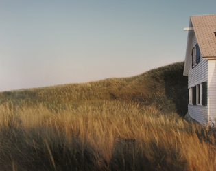 "Joel Meyerowitz, ""Dune, Grass, House, Truro, Massachusetts"""
