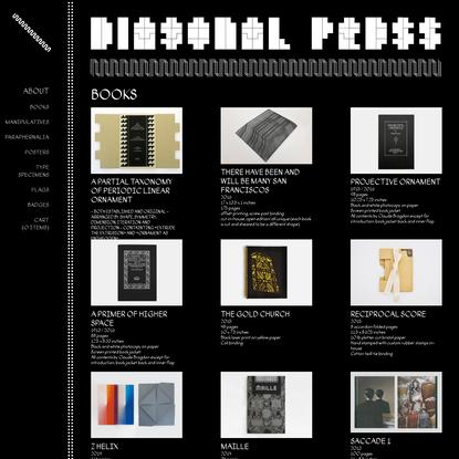 Collections | Diagonal Press