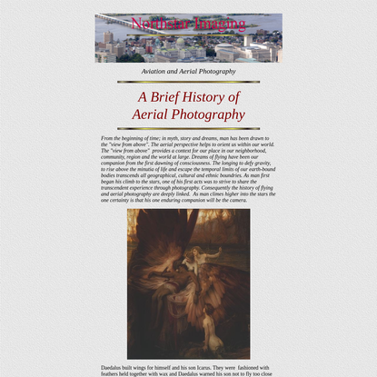 The History of Aerial Photography - Northstar Imaging
