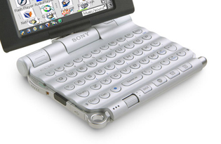 Keyboard of the Sony CLIÉ PEG UX-50 (200...