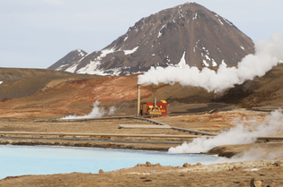 A Bitcoin mine in rural Iceland
