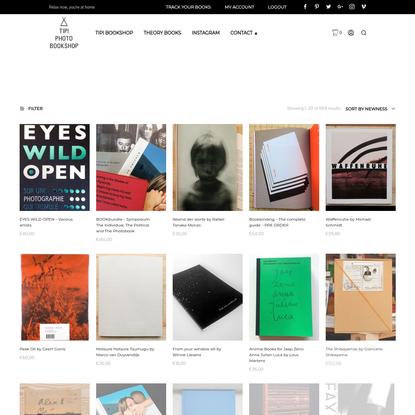 Tipi Bookshop - Self-published photobookstore based in Belgium.