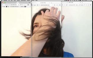 Olia Lialina, Self-Portrait, 2018