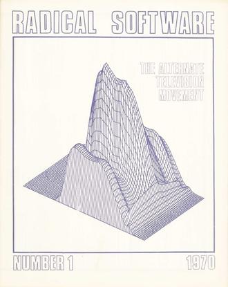 Radical Software 1, 1970