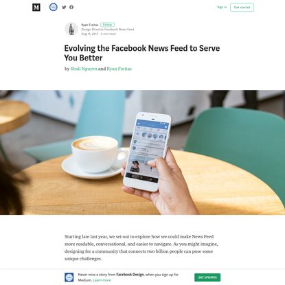 Evolving the Facebook News Feed to Serve You Better