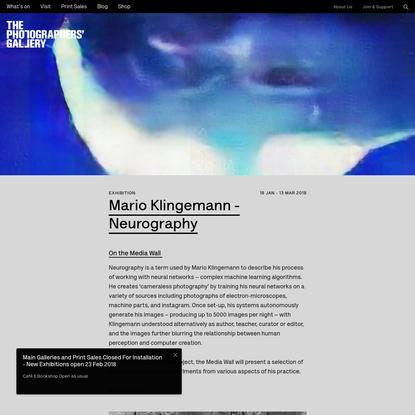 Mario Klingemann - Neurography