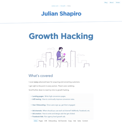 Growth Hacking: How to Acquire Users