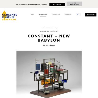 Constant - New Babylon
