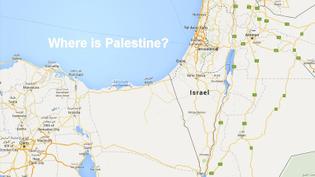 Google Maps, Palestine