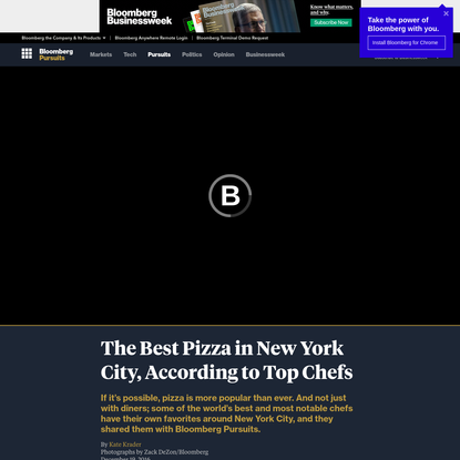 The Best Pizza in New York City, According to Top Chefs