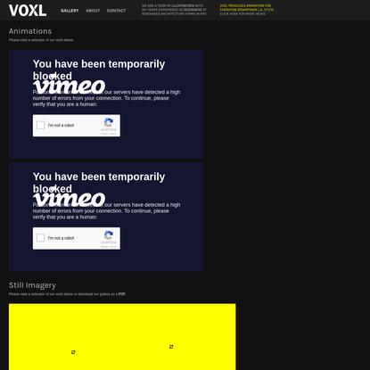 Voxl Media   Architectural Visualization