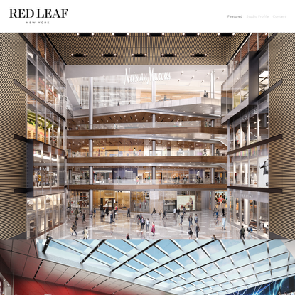 Red Leaf New York Homepage