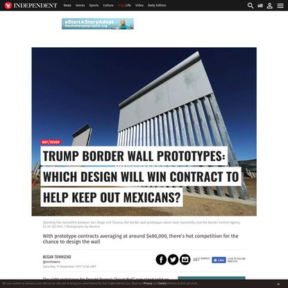 These are the contractors hoping to build Trump's Mexican border wall