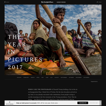 The Year in Pictures 2017