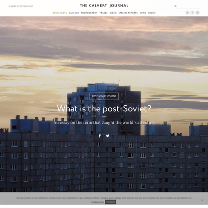 What is the post-Soviet? An essay on the term that caught the world's attention