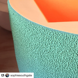#Repost @sophiesouthgate with @get_repost ・・・ Fresh out of the Kiln ~ this piece might be heading to Frankfurt with me on Thursday for Ambiente. I'm exhibiting with the other 2017/18 Future Lights winners @ceramics_eu #newwork #contemporaryceramics #craftsmanship #texture #porcelain #ceramicart #geometric #colour #Ambiente2018 #ceramicsanditsdimensions #futurelights