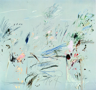 Cy Twombly - Il Parnasso (1964)