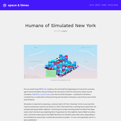 Humans of Simulated New York