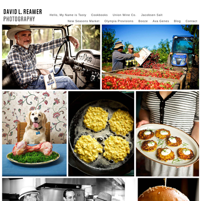 David L. Reamer Photography | Portland, Oregon Food, Restaurant & Lifestyle Photographer