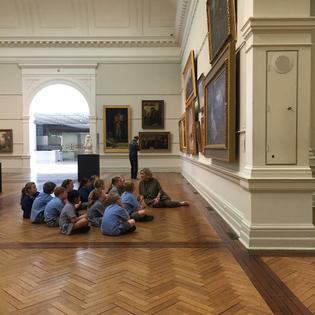 Art Classes in Primary School
