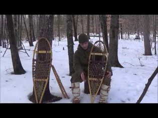 Bushcraft - Traditional Snowshoes Styles, Advantages, Disadvantages