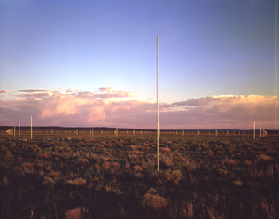 walter de maria - the lightning field