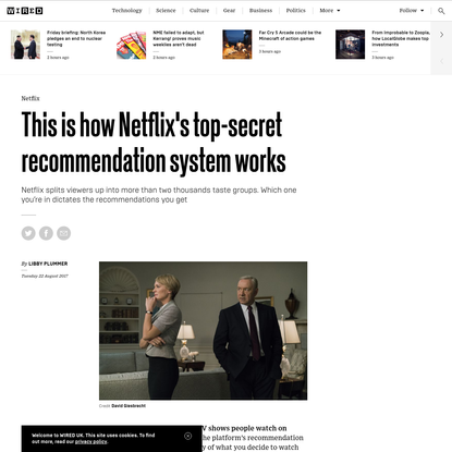 This is how Netflix's top-secret recommendation system works
