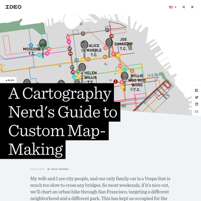 A Cartography Nerd's Guide to Custom Map-Making