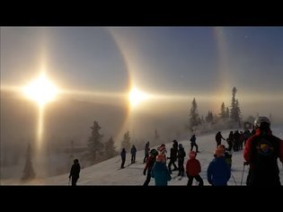 What the Heck is This? Dome Reflection? DRONE FOOTAGE (Three Suns)