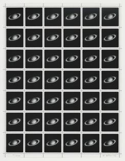 Vija Celmins, Saturn Stamps, 1995