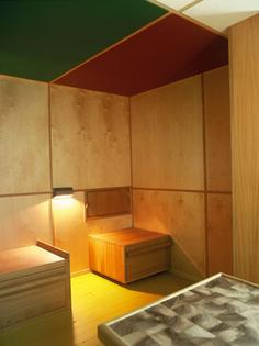 Le Cabanon Interior 1