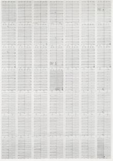 Hanne Darboven 49 x 49 (7 x 7 = 49) 1972-73