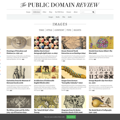 Collections - The Public Domain Review