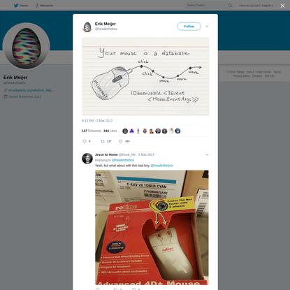 Erik Meijer on Twitter