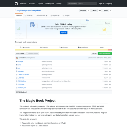 magicbookproject/magicbook