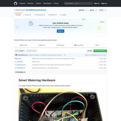 MyOrchard/SmartWatering-Hardware