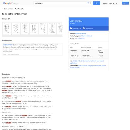 US2131042A - Radio traffic control system - Google Patents