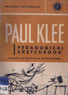 Pedagogical Sketchbook by Paul Klee