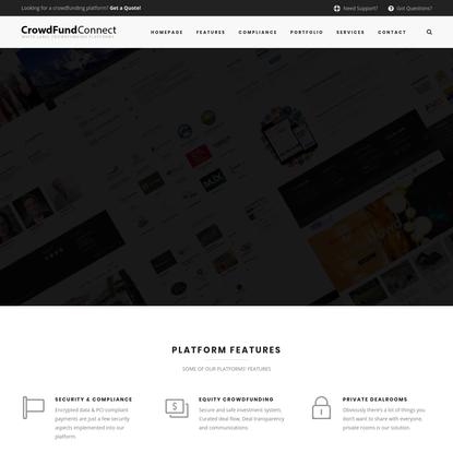 CrowdFund Connect — Crowdfunding