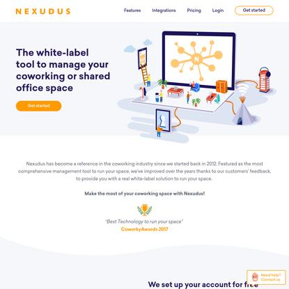 Nexudus — Coworking Management