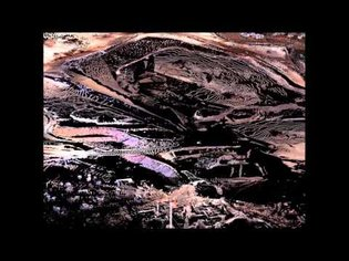 Ground-based LiDAR point cloud fly over of an entire mine site