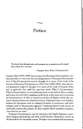 Suzanne Briet – What is Documentation (OCR PDF)