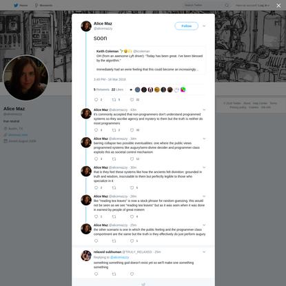 Alice Maz on Twitter