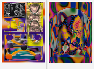 Super Paper Issue 101 is out now! Collaboration between Mirko and Jonathan Castro. #graphicdesign #artdirection #typeface #superpaper #bureauborsche #mirkoborsche #Munich @jonacthan