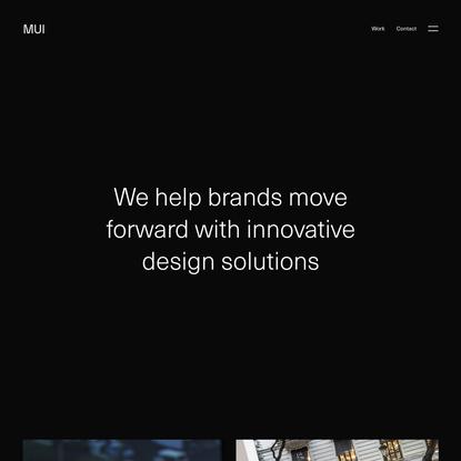 MUI - Estudio de diseño gráfico, branding y diseño web en Valencia